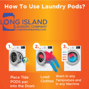 How to use laundry pods