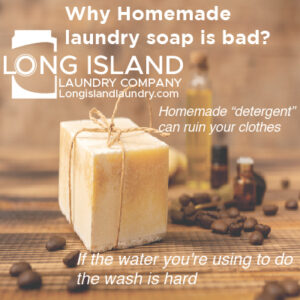 Why Homemade Laundry Soap is Bad
