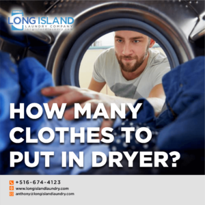 how many clothes to put in dryer