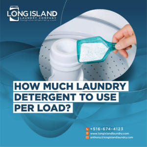 how much laundry detergent to use per load