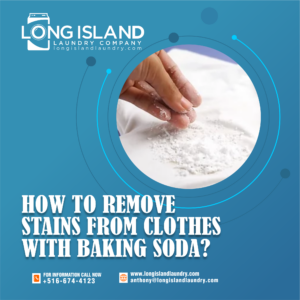 how to remove stains from clothes with baking soda