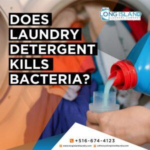 does laundry detergent kill bacteria